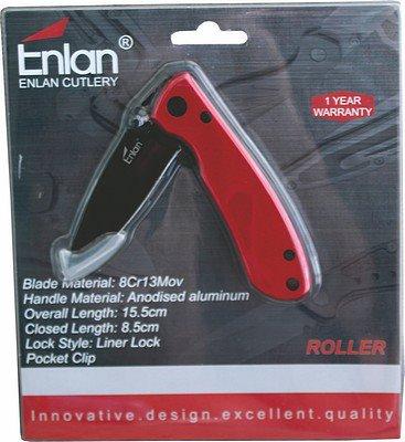 enlan-roller-8cr13mov-alu-l-lock-red-wpockclip-cl