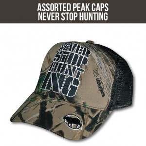 never-stop-hunting-cap